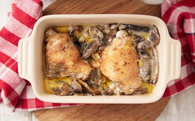 Chicken cream tarragon casserole