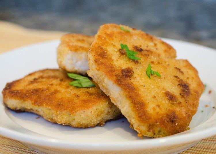 Crispy Breaded Pork Chops