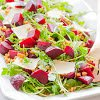 Beet Salad with Barley, Arugula and Parmesan