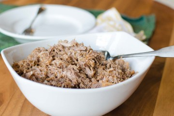 No Sauce Pulled Pork in a Pressure Cooker