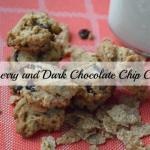 Cranberry and Dark Chocolate Chip Cookies