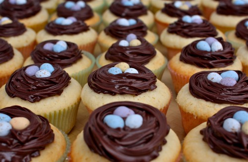 Easy Cupcakes Chocolate Easter