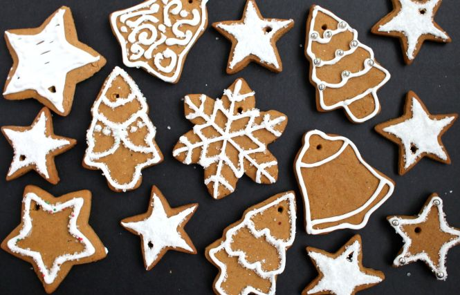 Bee S Gingerbread House Recipe Ings Ready For Decoration