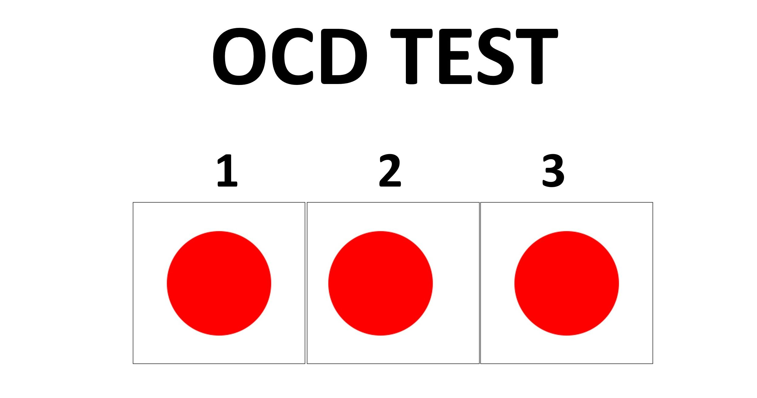 Quiz Is Your Ocd Radar Sensitive Enough To Notice The Most Subtle Differences