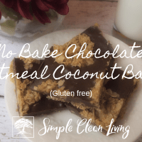 No Bake Chocolate Oatmeal Coconut Bars