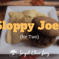 Sloppy Joes (Recipes for Two)