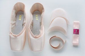 On Pointe shoes