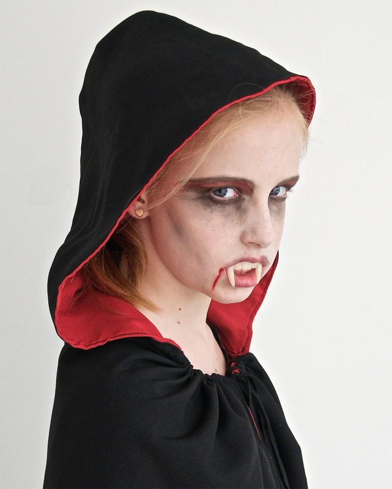 Scary carnival girl