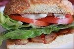 LT Sandwich with Lemon Basil Mayonnaise Recipe