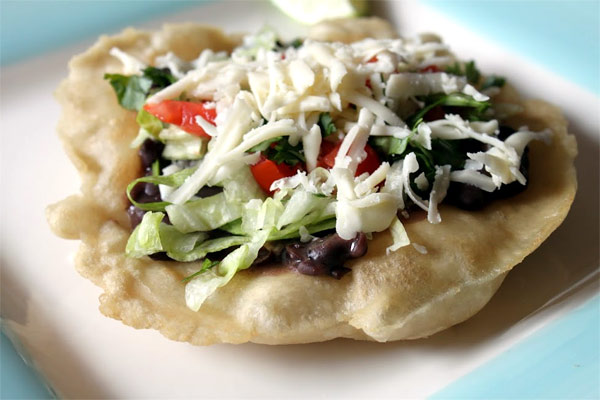 Indian Fry Bread Tacos
