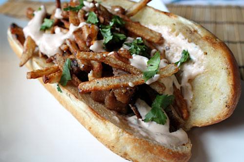 Loaded Steakhouse Sandwich