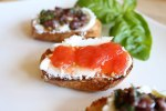 Pickled Tomato Crostini Recipe