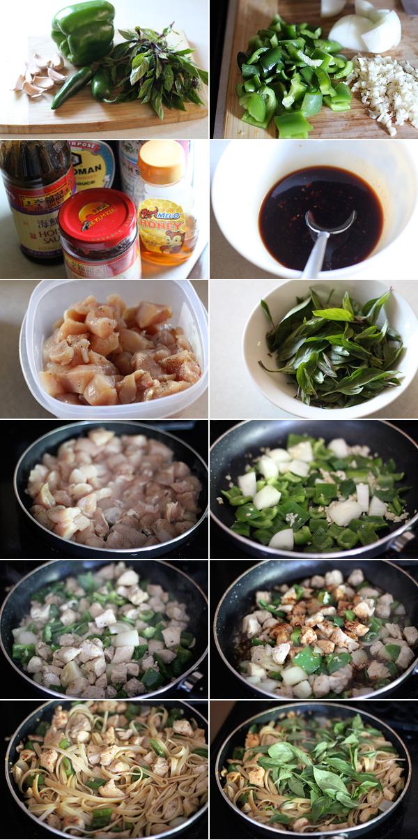 How to make Thai Drunken Noodles