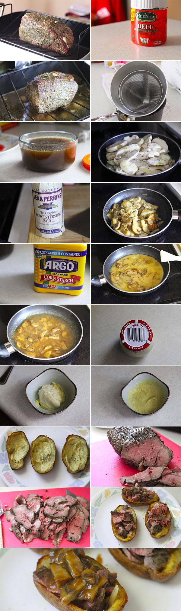 How to make potato skins recipe