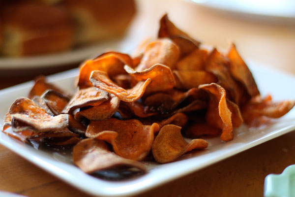 Homemade Sweet Potato Chips