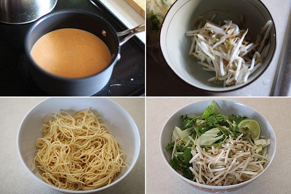 How to make Khao Poon