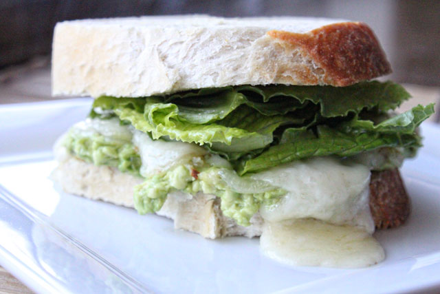 Avocado and Brie Sandwich