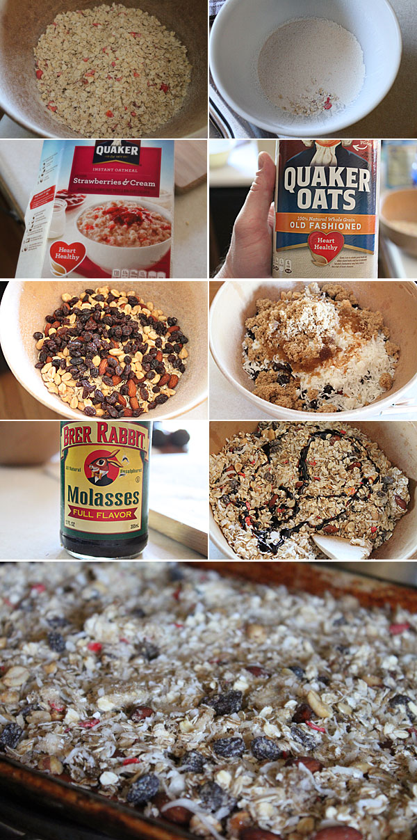 Instant Oatmeal Granola
