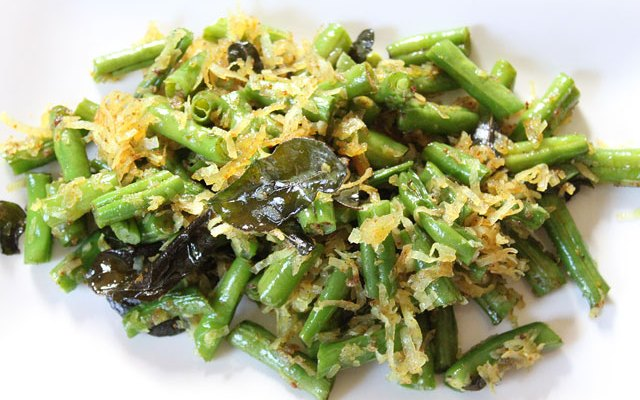 Indian Coconut Green Beans