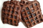 Chocolate Cake Waffles Recipe