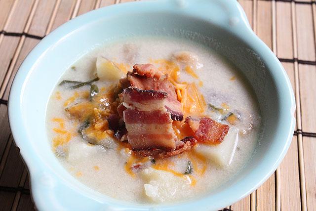Loaded Steakhouse Potato Soup