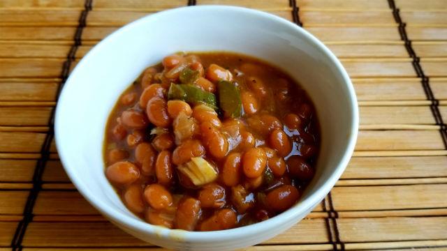 Easy Loaded Baked Beans
