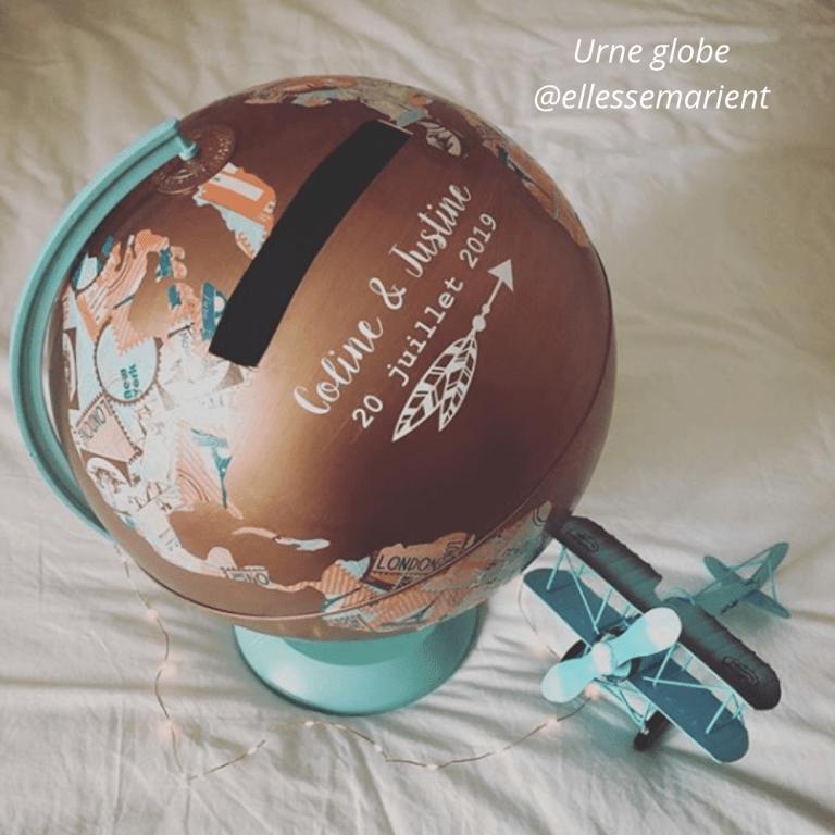 Urne globe @ellessemarient