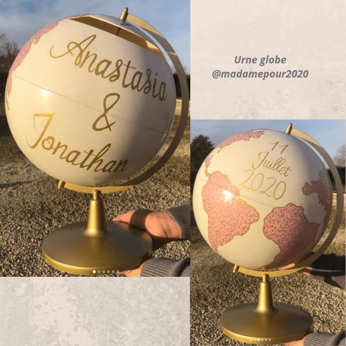 Urne globe @madamepour2020