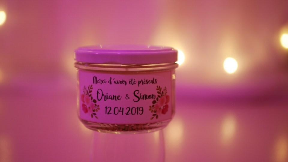 Cadeaux invités - Mariage champêtre romantique