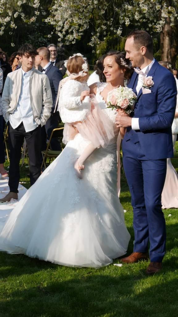 En famille - Mariage champêtre romantique