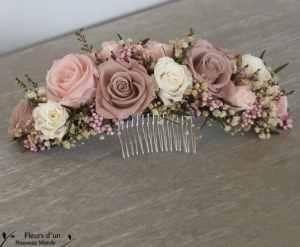 Peigne fleurs