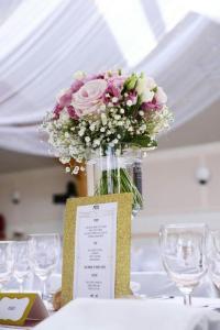 Décoration de salle mariage féerique