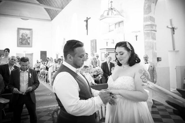 Echange des alliances - Mariage féerique