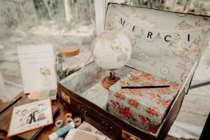 urne livre d'or Mariage champetre diy mariage