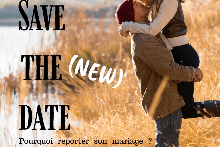 reporter son mariage
