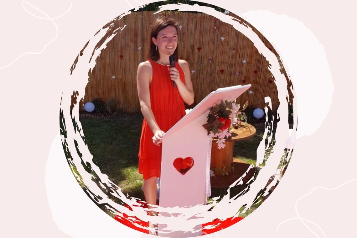 Audrey oui do it ceremonie laique