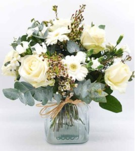 bouquet fleurs fraiches Atelier Olivier Fleurs