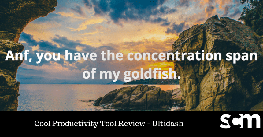 Day 9/37: Cool Productivity Tool Review – Ultidash