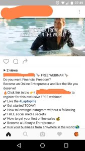 Because when you're rich you'll want to walk out of a pool in your suit. Boo-yah!