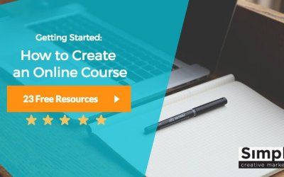 Getting Started: How to Create an Online Course (26 Free Resources)