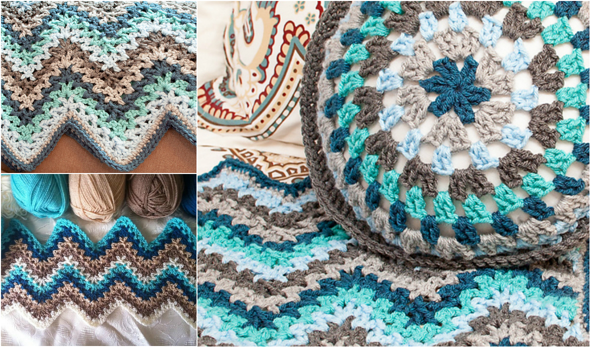 Easy Ripple Afghan Patterns Simple Decorating Ideas