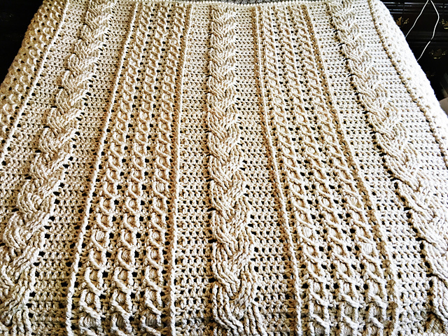 How To Crochet Celtic Afghan Free Pattern