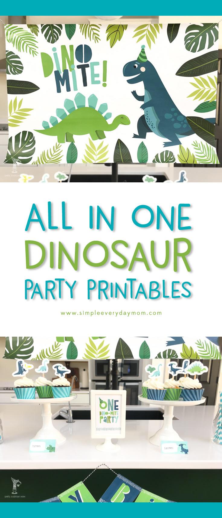 a terrific t rex dinosaur birthday