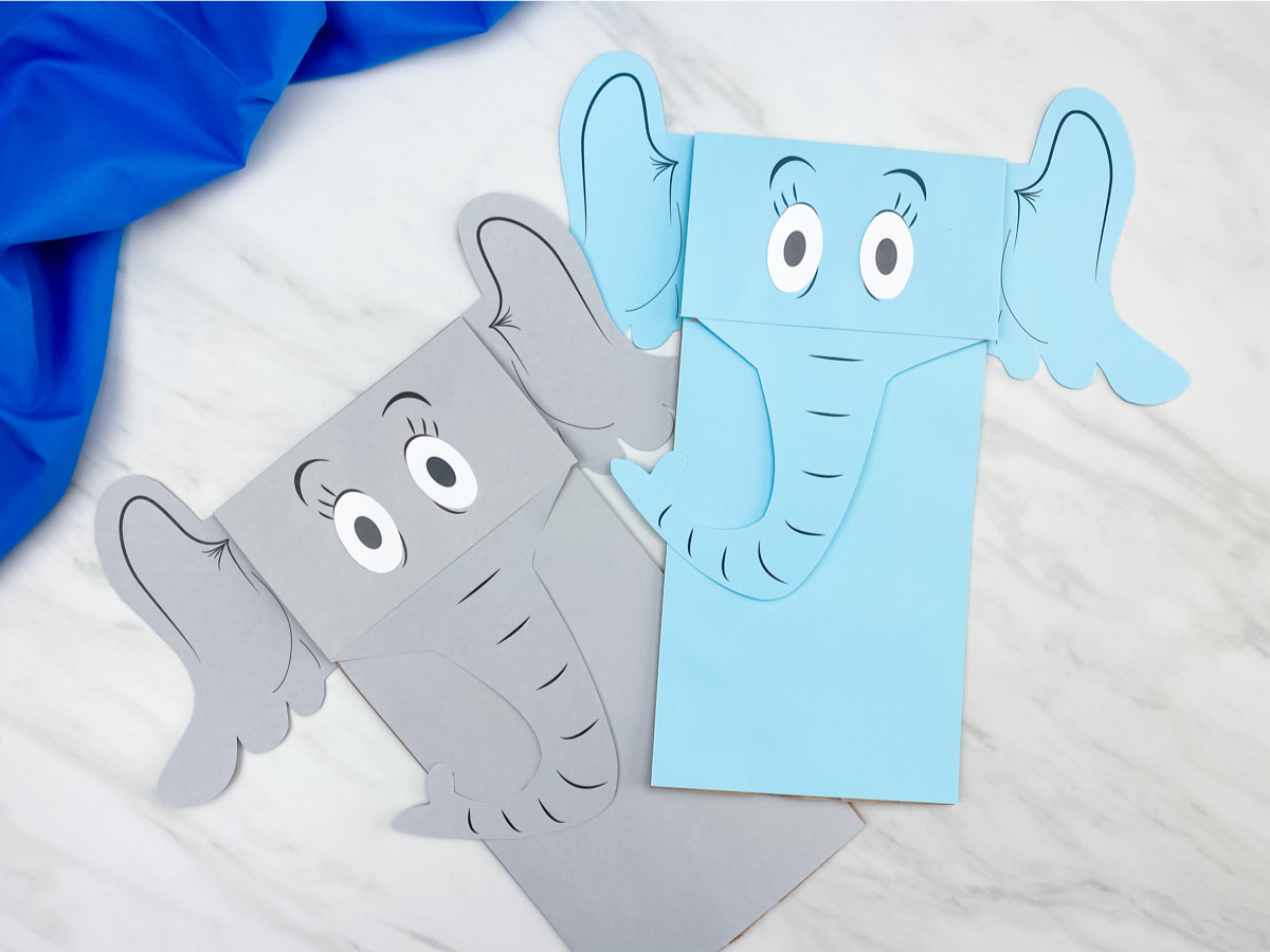 Horton Hears A Who Printable Puppet Craft