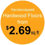 prices on Portland handscrapped hardwood floors
