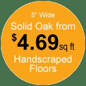 prices on Portland solid hardwood floors