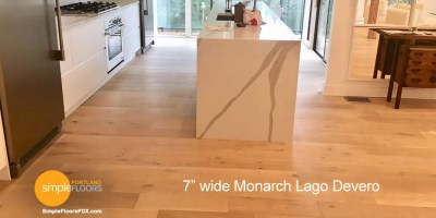 wide plank Monarch Lago Devero wood flooring