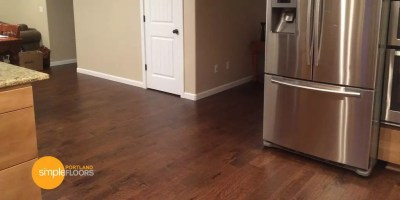 Engineered Hickory Wood Floors Kitchen 2