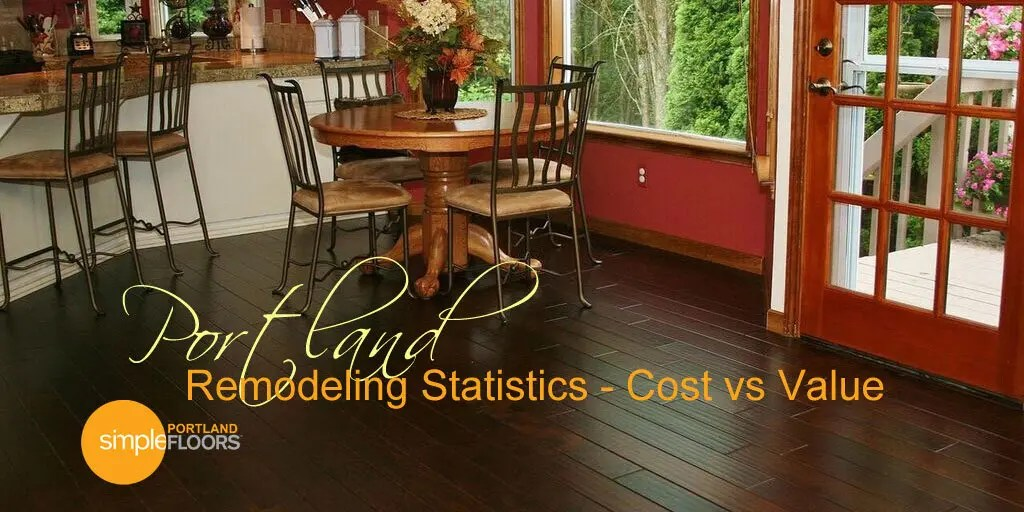 Portland Remodeling Statistics – Cost vs Value