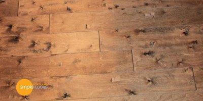 Vintage Millworks Potomac wood flooring Kitchen